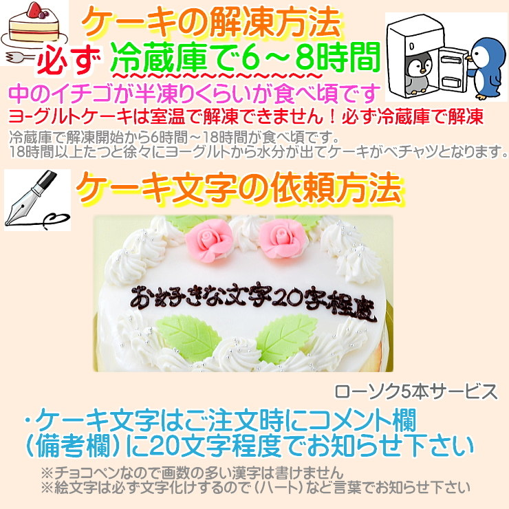 7  誕生日ケーキ の注文方法 名入れケーキ