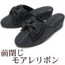 Heel slippers ★ モアレリボン patio m/l size graduation, enrollment, admission, examination interview in portable fs3gm