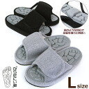 Health slippers body is rock L size slippers finger press