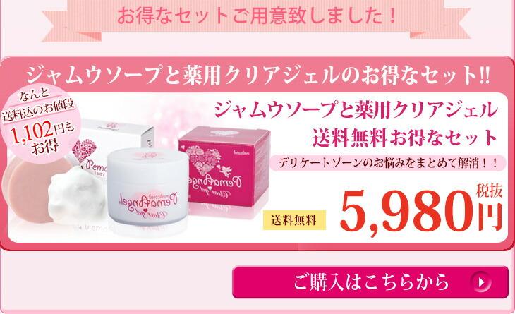 ペマエンジェル女子力アップセット(石鹸+ジェル)を購入する