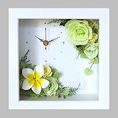 プルメリア花時計