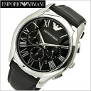 Emporio armani EMPORIO ARMANI watch chronograph men / black clockface AR1700