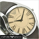Watch (brown clockface, cowhide belt Emporio armani AR2041) for Emporio armani EMPORIO ARMANI men