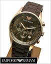Watch Rose gold IP (dark brown clockface) Emporio armani AR5890 for EMPORIO ARMANI (Emporio armani) chronograph men