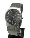 ( Skagen ) in SKAGEN 233XLTTM men's watch ultra-slim titanium (mesh belt grey characters Edition) 51%