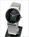 ( Skagen ) in SKAGEN men's Watch (mesh belt black letter Edition) 52% 355LSSB