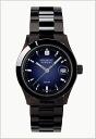 SWISS MILITARY (Swiss military) elegant black-Navy dial / men's ML-186