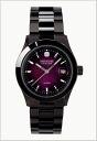 (regular article) 20%OFF ML -189 for SWISS MILITARY (the Swiss military) elegant black violet clockface / men