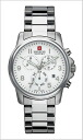 ( swismiglitary ) SWISS MILITARY Chronograph Watch classic White Dial (for men) genuine, 20% off ML-284