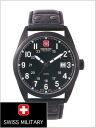 It is the 20%OFF ML -303 Swiss military SWISS MILITARY (the Swiss military) watch classical music, cowhide belt (black) /PVD Black coating black clockface (male business) (regular article)