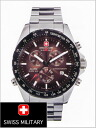 20% Off ML-317 ( swismiglitary ) SWISS MILITARY Chronograph Watch, Navigator Brown dial (for men)