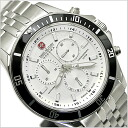 ( swismiglitary ) SWISS MILITARY Chronograph Watch-FlLAG SHIP ( flagship ) 20% off ML-321 White Dial (for men)