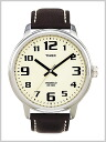 ( Timex ) TIMEX big easy reader and beige clock face genuine, T28201