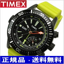TIMEX (Timex) watch, インテリジェントクォーツデプス black clockface yellow urethane belt (regular article) T2N958