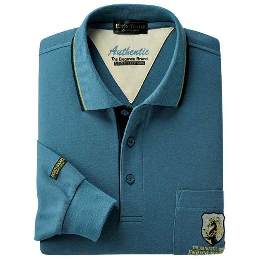 みんなで選べるブランド長袖ポロシャツ