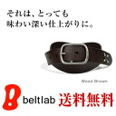 "It is accent, studs belt MEN'S Belt LADY'S Belt where I watch 細, and denim becomes slightly fun in men's Lady's every day with the real leather belt of the feel of texture such as the peel of the ""the bark of a tree"" tree, Brach's tone and studs"