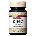 Life style zinc 30 mg 90 tablets ( 90 days min ). *.