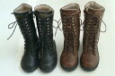 Special time sale SALE mom size race up boots / youth Lady's