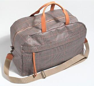 tsumori chisato/ tsumori chisato glen check PVC leather bag
