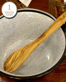 OLIVE SPOON Rial olive wood