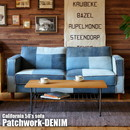 CALIFORNIA50's SOFA Patchwork-DENIM