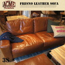 FRESNO LEATHER SOFA 3-Seater