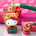 ◆ strap Hello Kitty Christmas 09 プレゼントキティ