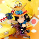 ONE PIECE (one piece) ITA warriors series netsuke strap Masamune ACE fs3gm