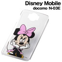 ☆ ◆ Disney docomo Disney Mobile (N-03E)-only character, clear sparkles and Minnie RT-DN03EC/MN fs3gm Shell Jacket
