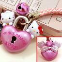 ◆ Kobe limited edition Hello Kitty (HELLOKITTY) Venus Bridge version netsuke strap
