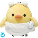 ◇ rilakkuma stripes everyday themes kuttari kiiroitori plush (M) MP73001