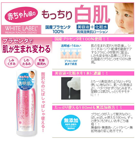 Японская плацентарная косметика из Японии-карточка товара: малый бизнес.