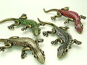 "Beauty hair lizard brooch 905 s Accessories/Accessories / geckos used for Gecko / lizard charm."""". """