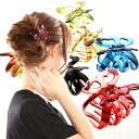 Beauty hair Vance clip clear Butterfly? s heaakuse / hair accessories and hair/Party invited here range and hairclip.