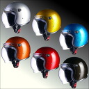 Polar helmet ラメジェット LEAD shielded MURREY MR-71
