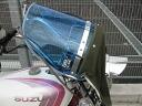 블루 바람막이 클리어 쇼핑몰 피복 소스 녹색 제 퍼 400 바리 ZRX400 제이드 호크 2 XJR400 마그나 50 재즈 CB400SF TW200 SR400 GSX400 임 산적 등 GS400 Z2