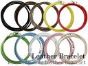 In the men's leather bracelet anklet long cord leather bracelet, mens leather bracelets