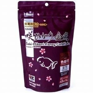 カロチノイドを最適な割合で配合した色揚げ用飼料Hikari