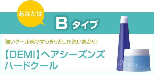 【デミ】ヘアシーズンズハードクール