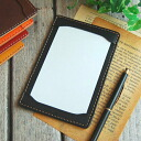 [Leather Jotter Notepad 5 × 3 size] [OK]