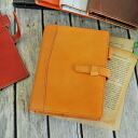 Handbook wide type Bible size of leather system 【】