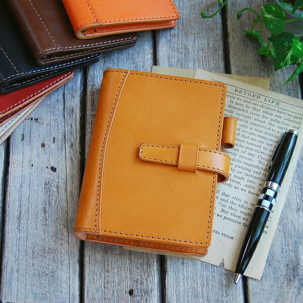 システム手帳ミニ6穴ポケットサイズ コンパクトでコロンとかわいいフォルムのミニ6穴サイズシステム手帳