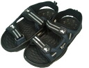 A time-limited special price! Besides! I make an outstanding performance in 普段履 きや leisure! LARKINS/ Larkin men aqua sandals navy