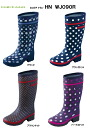 Hiromichi Nakano rain boots HN WJ090R Lady's boots
