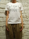 Easy Earl Life ( EEL eel ) il ailerons collaboration NIGHT POOL-Tee t-shirt