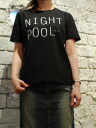 Easy Earl Life ( EEL eel ) il ailerons collaboration NIGHT POOL-Tee shirt 2013