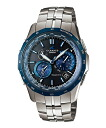 Casio Osh holes manta metallic Deep Blue tough solar radio time signal OCEANUS Manta OCW-S1400D-2AJF