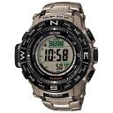 [] Protrek MULTI FIELD LINE (field lines) solar radio watch bracelets specifications 20 ATM water resistant PRO TREK PRW-3500T-7JF 58, 0