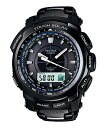 Casio protrek solar radio watch CASIO PROTREK BLACK TITAN LIMITED PRW-5100YT-1JF