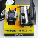 Protrek PRW-S2500MG-1JR MAG-LITE ( Maglite ) collaboration model gift giveaway to popular!